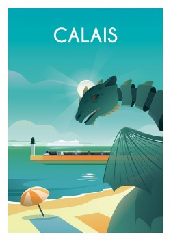 Affiche Calais