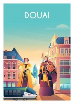 Affiche Douai