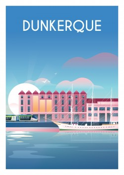 Affiche Dunkerque