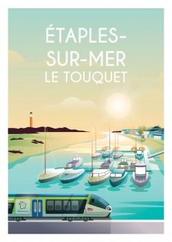 Affiche Étaples-Sur-Mer