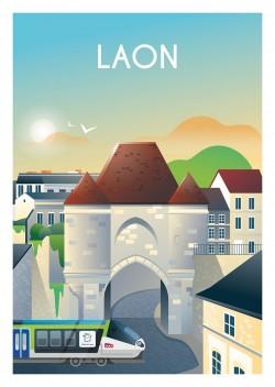 Affiche Laon