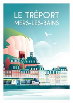 Affiche Le Tréport
