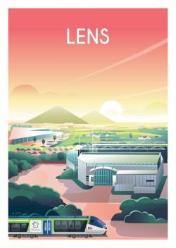 Affiche Lens