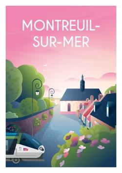 Affiche Montreuil-Sur-Mer