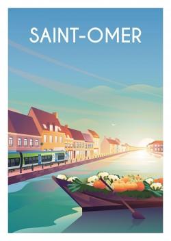 Affiche Saint-Omer