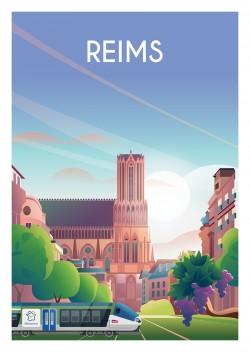 Affiche Reims