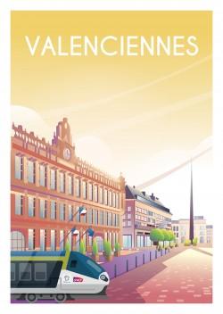 Affiche Valenciennes