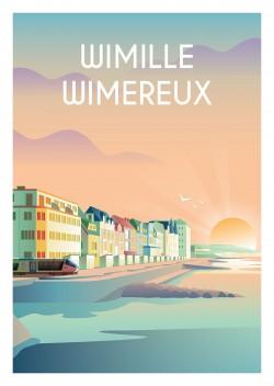 Affiche Wimille Wimereux