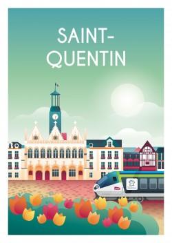 Affiche Saint-Quentin