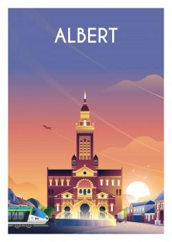 Affiche Albert