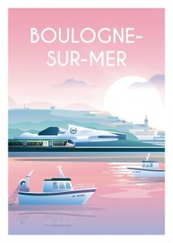Affiche Boulogne-Sur-Mer